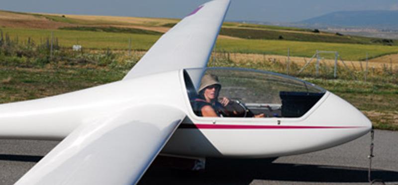 Planeador monoplaza Grob G102 astir CS EC-JER.