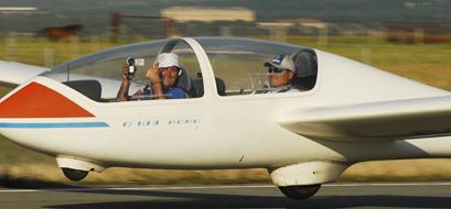 Volar en planeador… tuve un sueño